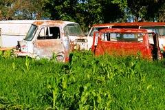 Rottende auto's Stock Afbeeldingen