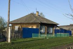 Rottende landelijke bouw Royalty-vrije Stock Foto's