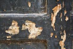 Rottende oude deurachtergrond Stock Foto's