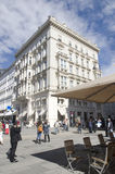 Rottenturm Street in Vienna, Austria Royalty Free Stock Photography