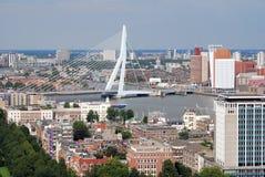 Rotterdam aérea Imagenes de archivo