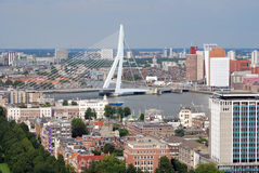 Rotterdam aérien Images stock