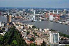 Rotterdam aerea Fotografie Stock Libere da Diritti