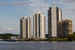 Rotterdam Apartments Royalty Free Stock Photography