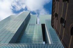 Rotterdam arkitektur Arkivfoto