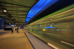 Rotterdam Blaak tram station Royalty Free Stock Photo