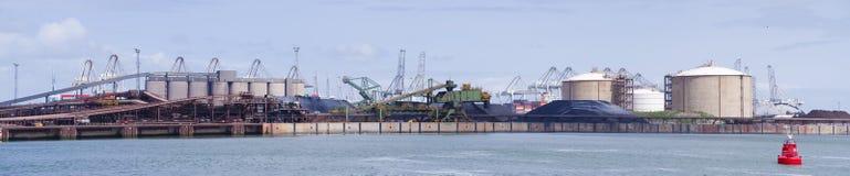 Rotterdam bulk terminal Stock Images