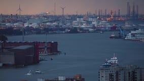 Rotterdam Busy Waterways
