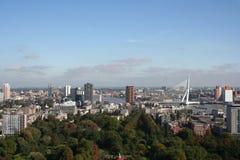 Rotterdam céntrica Imagen de archivo libre de regalías