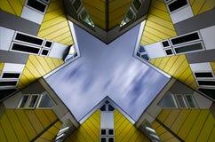 Rotterdam - casas del cubo Imagen de archivo