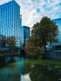 Rotterdam Central. Rotterdam, city, achitecture, autumn, nature, city stock photography