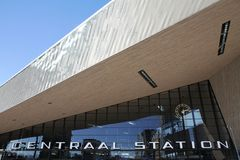 Rotterdam centrali stacja Zdjęcie Stock