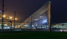 Rotterdam centralstation Fotografering för Bildbyråer