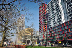 Rotterdam city center, Netherlands Stock Images