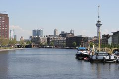 Rotterdam city Royalty Free Stock Image