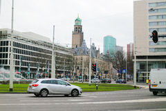 Rotterdam city Netherlands Royalty Free Stock Photos