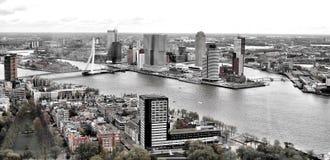 Rotterdam. City view buildings cityview Stock Photos