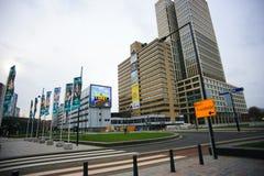 Rotterdam Cityscape Arkivfoton