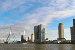Rotterdam cityscape Stock Photos
