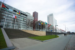 Rotterdam cityscape Royalty Free Stock Images