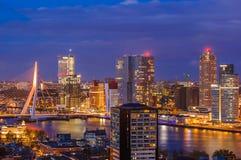 Rotterdam cityscape - Netherlands stock photography