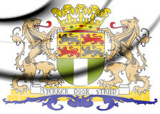 Rotterdam coat of arms, Netherlands. Stock Images