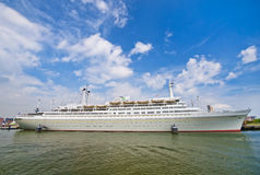Rotterdam Cruise Ship Royalty Free Stock Photography