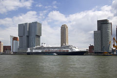 Rotterdam Cruise Ship Royalty Free Stock Image