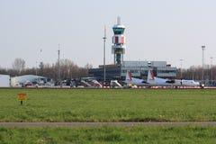 Rotterdam-D Den Haag Flughafen Stockbilder