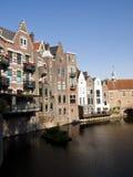 Rotterdam Delfshaven. Rotterdam old neighbourhood od Delfshaven Stock Images