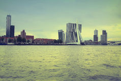 ROTTERDAM, DIE NIEDERLANDE - 18. AUGUST: Rotterdam ist ein Stadtmodus Lizenzfreie Stockfotografie