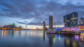 Rotterdam Downtown Stock Images