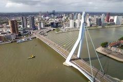 Rotterdam Erasmus bridge Royalty Free Stock Photography