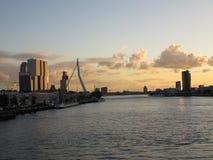 Rotterdam, Erasmus bridge, Netherlands Stock Photography
