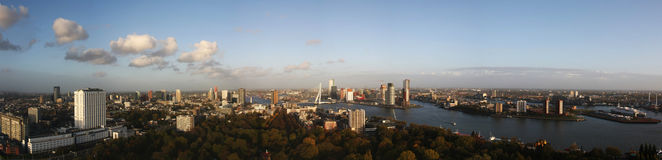 Rotterdam in the fall XXL royalty free stock photography