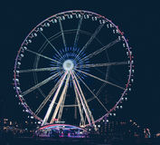 Rotterdam Ferris Wheel Images stock