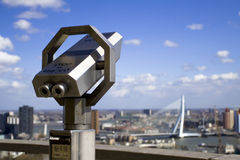 Rotterdam From The Tower Stock Photography