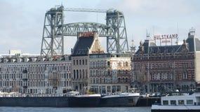 Rotterdam gammal skola Arkivfoto