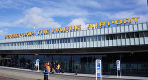 Rotterdam The Hague Airport Royalty Free Stock Photography