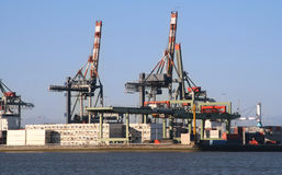 Rotterdam Harbor Stock Photo
