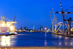 Rotterdam Harbor Stock Photos