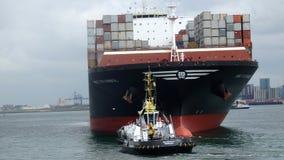 Rotterdam Harbour stock image