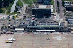 Rotterdam Haski lotnisko Obraz Stock