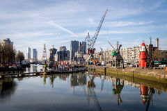 Rotterdam Haven Museum Royalty Free Stock Images