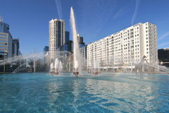 Rotterdam Hofplein Fotografia de Stock