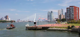Rotterdam, Holanda Meridional, los Países Bajos Imágenes de archivo libres de regalías