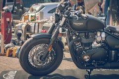 ROTTERDAM, holandie - WRZESIEŃ 2 2018: Motocykle są shini zdjęcie stock
