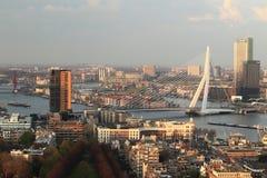 Rotterdam horisont Royaltyfri Fotografi