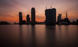 Rotterdam horisont Royaltyfri Bild