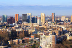 Rotterdam horisont Royaltyfri Foto